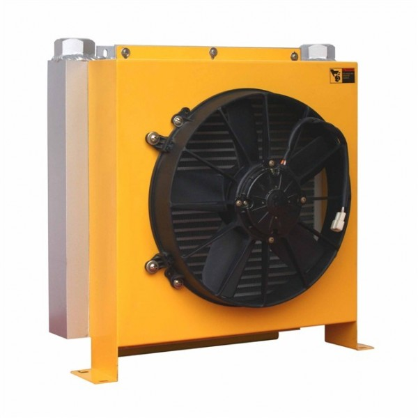 Hydraulic Oil Cooler : Hydraulic fan oil coolers in china